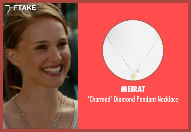 MeiraT gold necklace from No Strings Attached seen with Natalie Portman (Emma)
