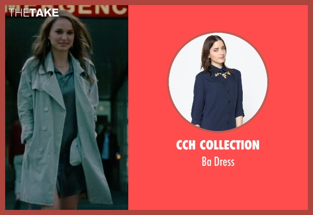 CCH Collection gray dress from No Strings Attached seen with Natalie Portman (Emma)
