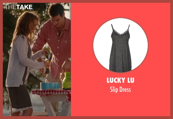 Lucky Lu gray dress from No Strings Attached seen with Natalie Portman (Emma)