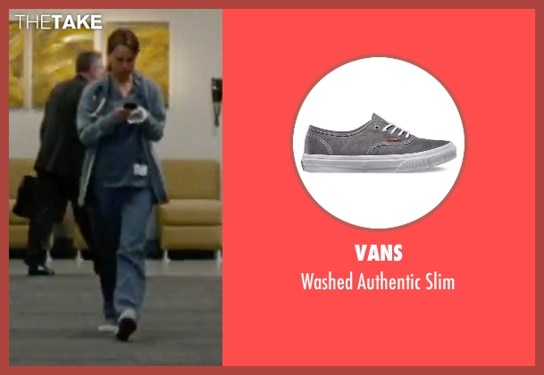 Vans gray slim from No Strings Attached seen with Natalie Portman (Emma)