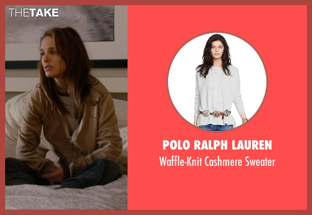 Polo Ralph Lauren gray sweater from No Strings Attached seen with Natalie Portman (Emma)