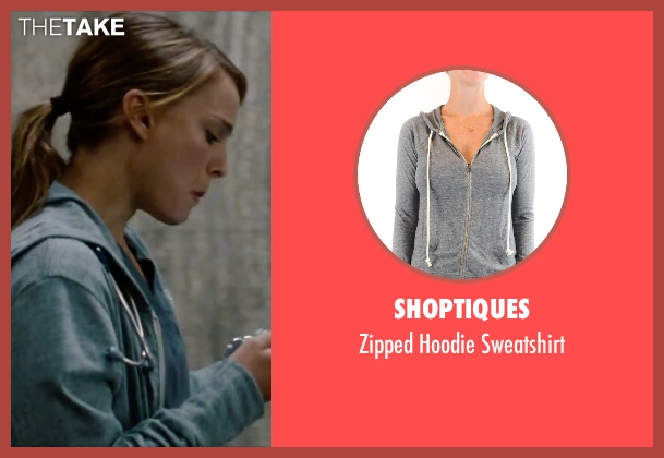 Shoptiques gray sweatshirt from No Strings Attached seen with Natalie Portman (Emma)