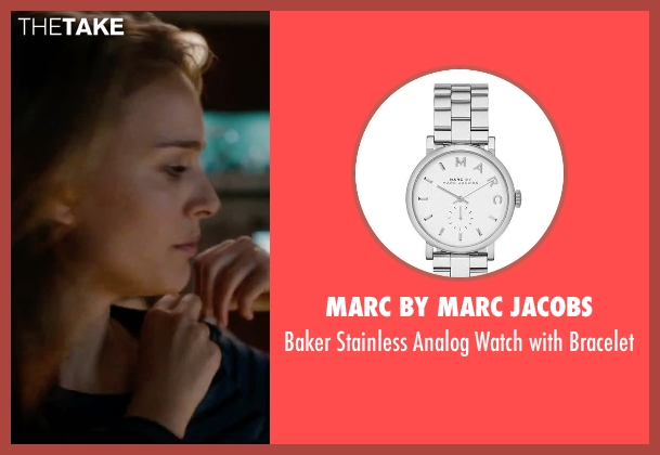 Marc by Marc Jacobs silver bracelet from No Strings Attached seen with Natalie Portman (Emma)