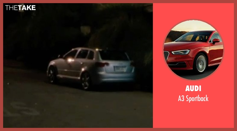 Audi sportback from No Strings Attached seen with Natalie Portman (Emma)