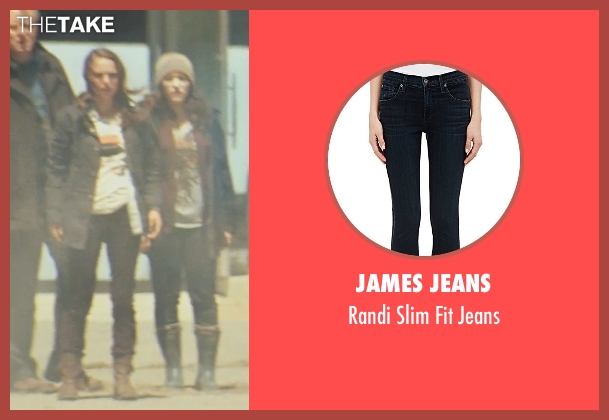 James Jeans black jeans from Thor seen with Natalie Portman (Jane Foster)
