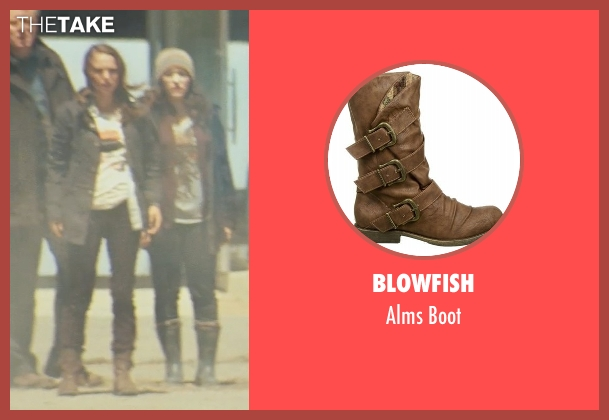 Blowfish brown boot from Thor seen with Natalie Portman (Jane Foster)