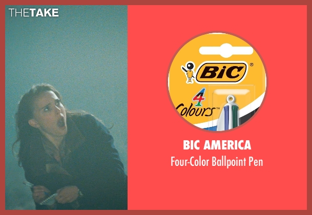 BIC America pen from Thor seen with Natalie Portman (Jane Foster)