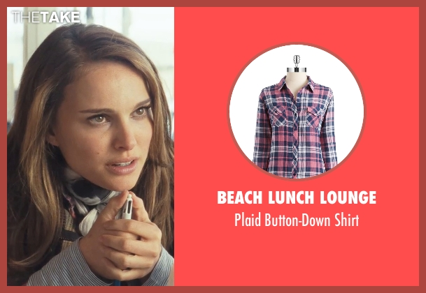 Beach Lunch Lounge pink shirt from Thor seen with Natalie Portman (Jane Foster)