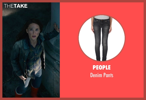 People black pants from Thor: The Dark World seen with Natalie Portman (Jane Foster)