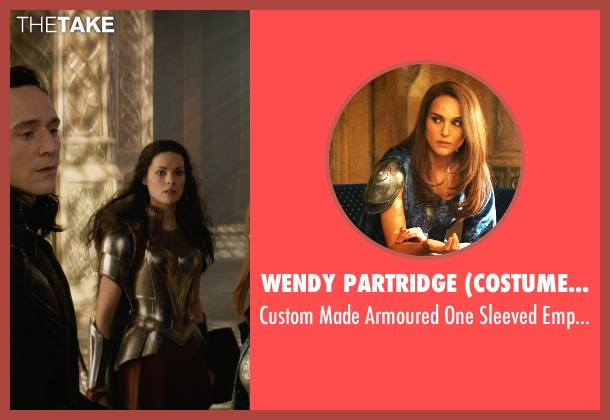 Wendy Partridge (Costume Designer) dress from Thor: The Dark World seen with Natalie Portman (Jane Foster)