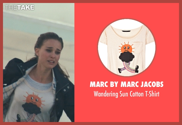 Marc By Marc Jacobs white t-shirt from Thor seen with Natalie Portman (Jane Foster)