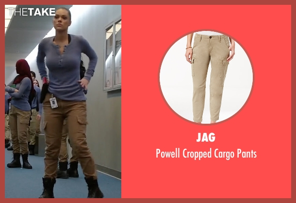 Jag pants from Quantico seen with Natalie Vasquez (Anabelle Acosta)