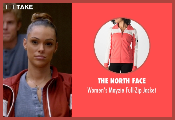 The North Face red jacket from Quantico seen with Natalie Vasquez (Anabelle Acosta)