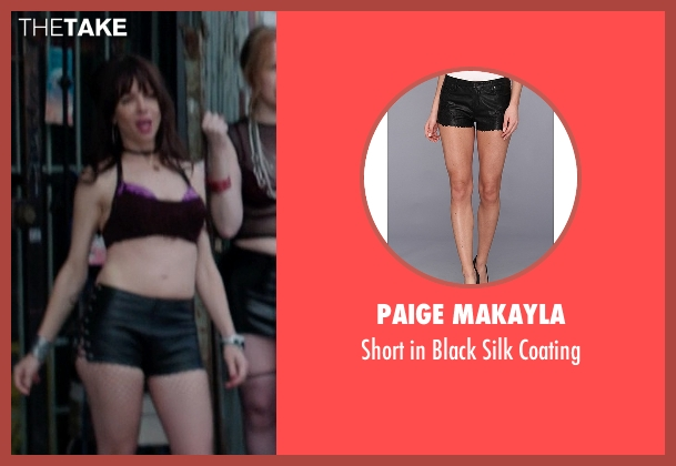 Paige Makayla black coating from Neighbors seen with Natasha Leggero (Prostitute)