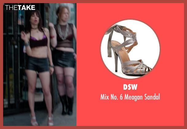 DSW gray sandal from Neighbors seen with Natasha Leggero (Prostitute)