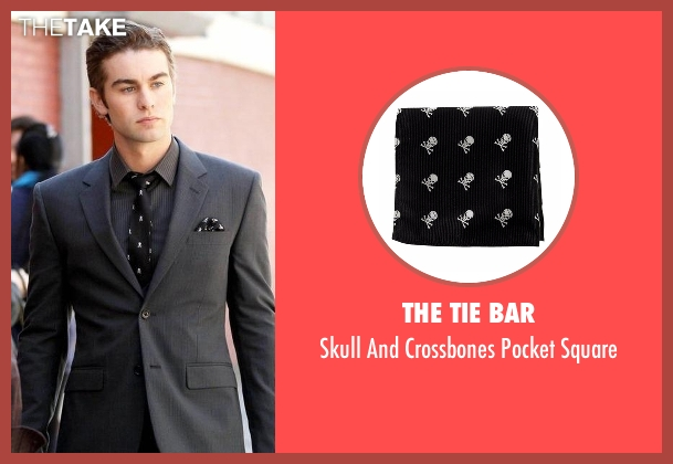 The Tie Bar black square from Gossip Girl seen with Nate Archibald (Chace Crawford)