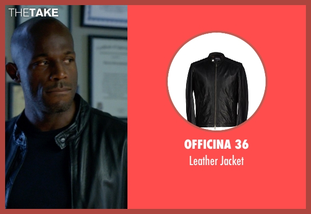 Officina 36 black jacket from How To Get Away With Murder seen with Nate Lahey (Billy Brown )