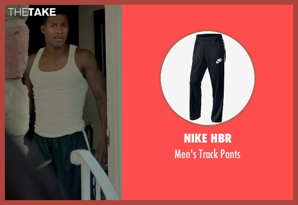 Nike HBR black pants from Beyond the Lights seen with Nate Parker (Kaz Nicol)