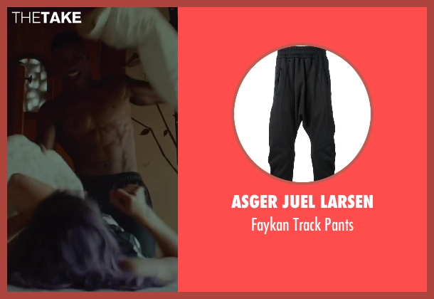 Asger Juel Larsen black pants from Beyond the Lights seen with Nate Parker (Kaz Nicol)