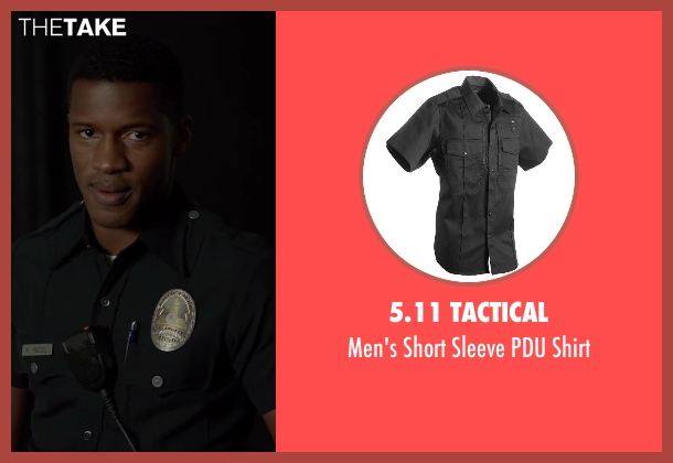 5.11 Tactical shirt from Beyond the Lights seen with Nate Parker (Kaz Nicol)
