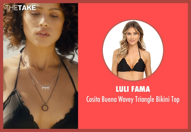 Luli Fama black top from Furious 7 seen with Nathalie Emmanuel (Ramsey)