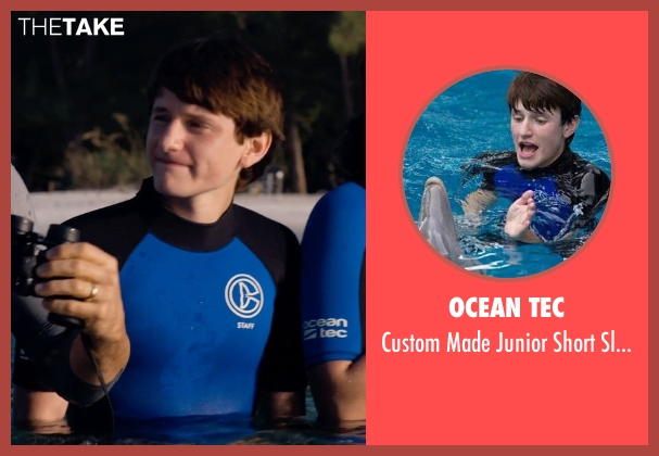 Ocean Tec blue rashguard from Dolphin Tale 2 seen with Nathan Gamble (Sawyer Nelson)