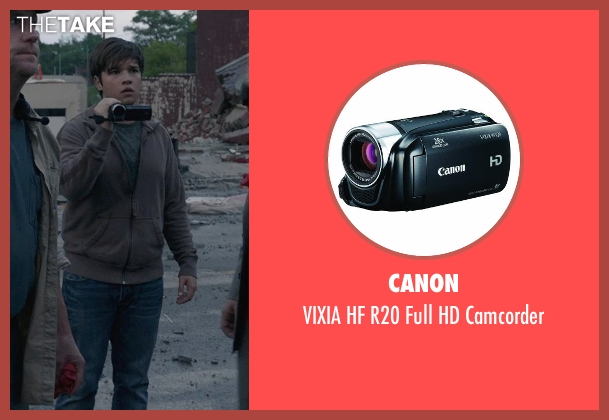 Canon camcorder from Into the Storm seen with Nathan Kress (Trey)