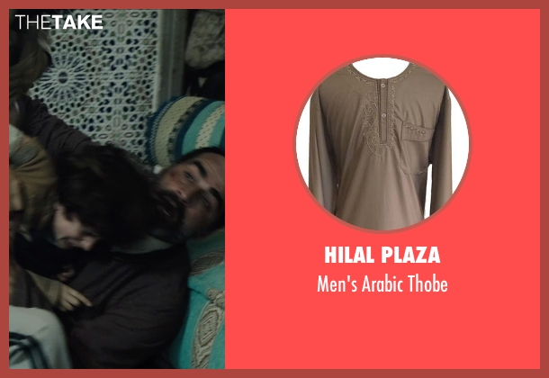 Hilal Plaza thobe from American Sniper seen with Navid Negahban (Sheikh Al-Obodi)