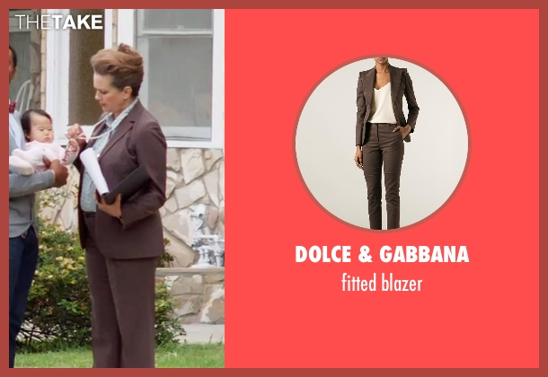 DOLCE & GABBANA brown blazer from Neighbors