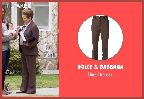 DOLCE & GABBANA brown trouser from Neighbors