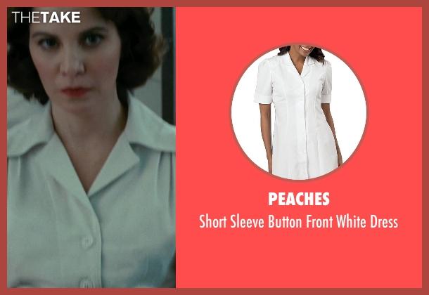 Peaches white dress from Shutter Island seen with Nellie Sciutto (Nurse Marino)