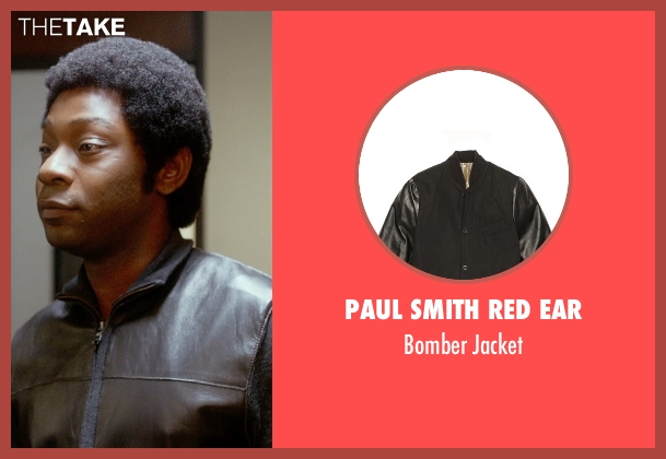 Paul Smith Red Ear black jacket from Get On Up seen with Nelsan Ellis (Bobby Byrd)