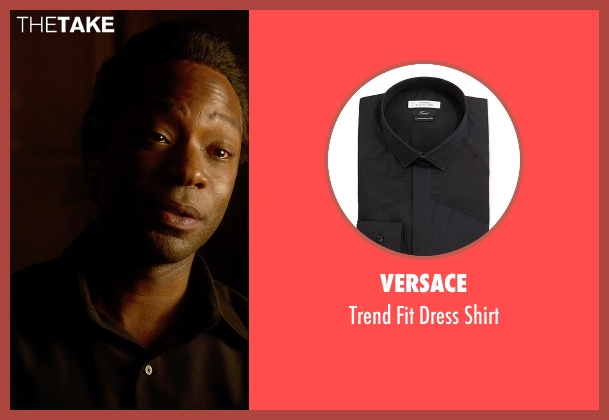Versace black shirt from Get On Up seen with Nelsan Ellis (Bobby Byrd)