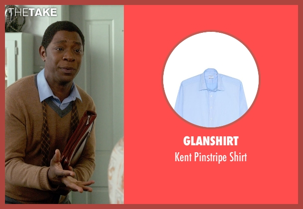 Glanshirt blue shirt from Get On Up seen with Nelsan Ellis (Bobby Byrd)
