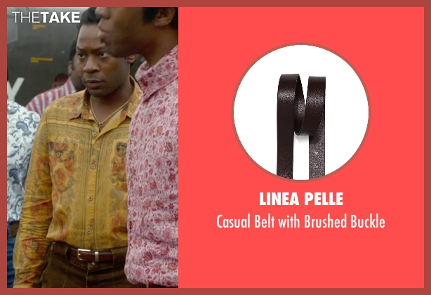 Linea Pelle brown buckle from Get On Up seen with Nelsan Ellis (Bobby Byrd)