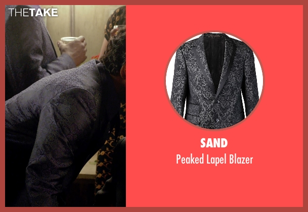 Sand gray blazer from Get On Up seen with Nelsan Ellis (Bobby Byrd)