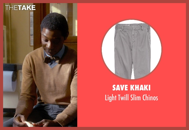 Save Khaki gray chinos from Get On Up seen with Nelsan Ellis (Bobby Byrd)