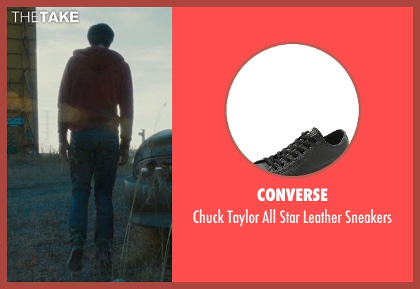 Converse black sneakers from Warm Bodies seen with Nicholas Hoult ('R')