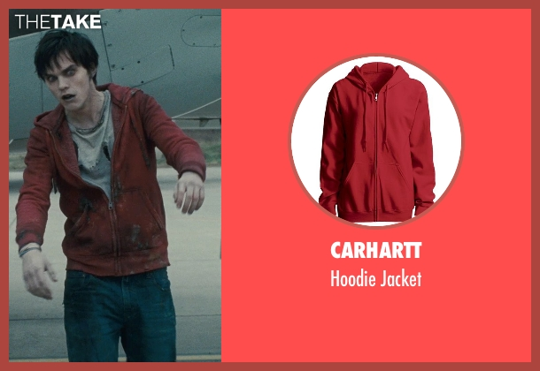 Carhartt red jacket from Warm Bodies seen with Nicholas Hoult ('R')
