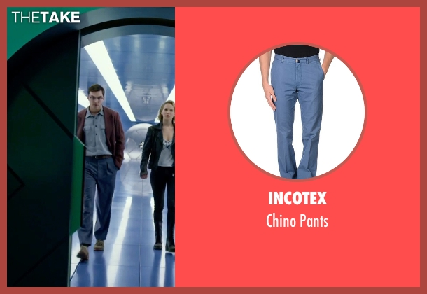 Incotex blue pants from X-Men: Apocalypse seen with Nicholas Hoult (Hank McCoy / Beast)