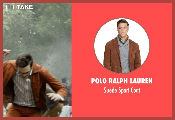 Polo Ralph Lauren brown coat from X-Men: Days of Future Past seen with Nicholas Hoult (Hank McCoy / Beast)