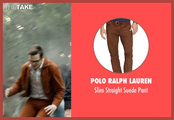 Polo Ralph Lauren brown pant from X-Men: Days of Future Past seen with Nicholas Hoult (Hank McCoy / Beast)
