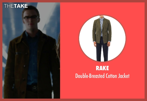 Rake green jacket from X-Men: Days of Future Past seen with Nicholas Hoult (Hank McCoy / Beast)