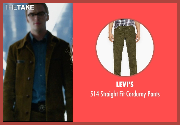Levi's green pants from X-Men: Days of Future Past seen with Nicholas Hoult (Hank McCoy / Beast)