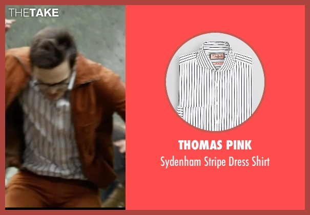Thomas Pink white shirt from X-Men: Days of Future Past seen with Nicholas Hoult (Hank McCoy / Beast)
