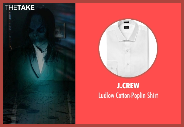 J.Crew white shirt from Sinister 2 seen with Nicholas King (Bughuul)