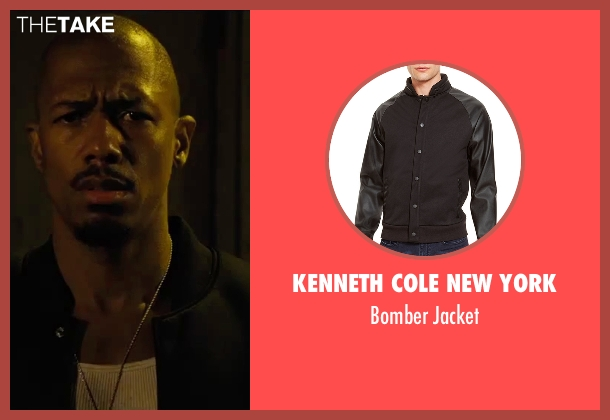 Kenneth Cole New York black jacket from Chi-Raq seen with Nick Cannon (Chi-Raq)