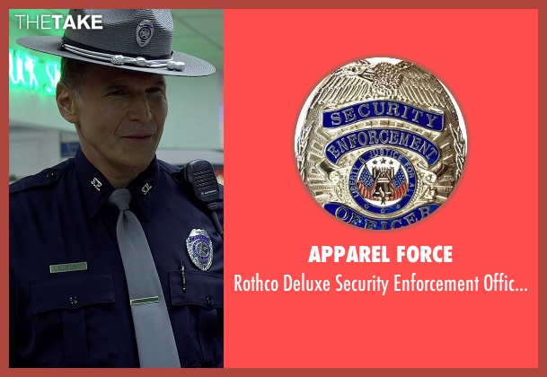 Apparel Force badge from Need for Speed seen with Nick Chinlund (Officer Lejeune)