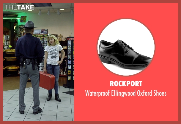 Rockport black shoes from Need for Speed seen with Nick Chinlund (Officer Lejeune)
