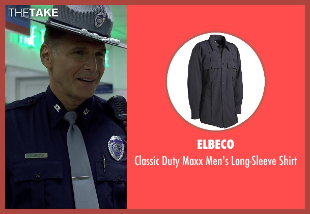 Elbeco blue shirt from Need for Speed seen with Nick Chinlund (Officer Lejeune)
